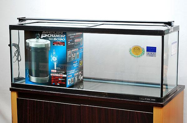 【送料無料】コトブキ ワイド900 外部フィルター付4点セット LEDライト仕様 【北海道・沖縄・離島、別途送料】