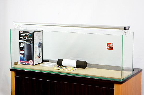 【送料無料】 GEX グラステリア スリム900+水中フィルター+LEDライト 【北海道・沖縄・離島、別途送料】