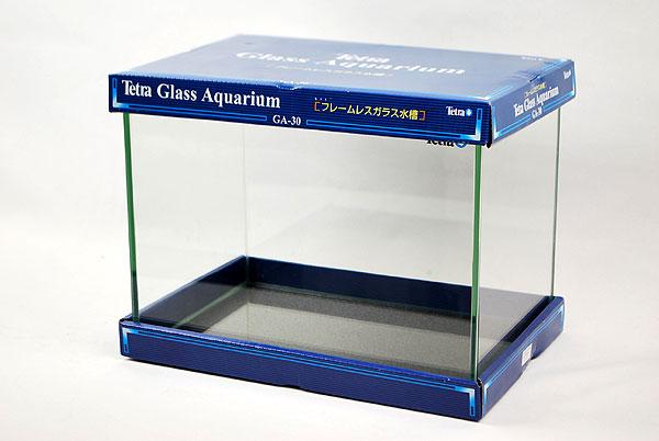 テトラ GA−30 30cmフレームレスガラス水槽 【熱帯魚・アクアリウム/水槽・アクアリウム/水槽 】
