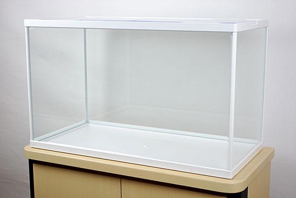 幅60x奥行き30x高さ36cmホワイトフレームガラス水槽です。 テトラ ホワイトアクアリウム600 水槽単品