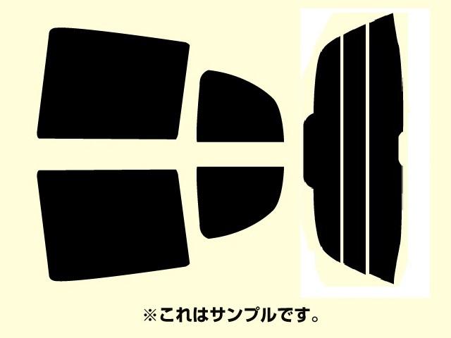 送料無料 ホンダ フィット GD系 カット済みカーフィルム リアガラスのフィルム形状凸型タイプ
