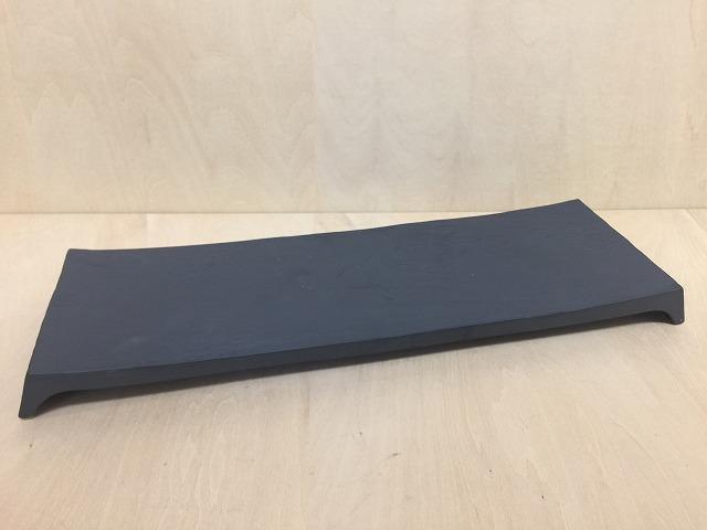 【有田焼 李荘窯】40cm鮨皿.漆黒