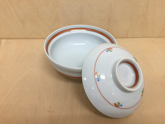 13cm円菓子碗.色木ノ葉