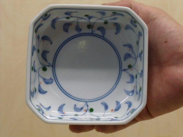 新唐草角切小鉢