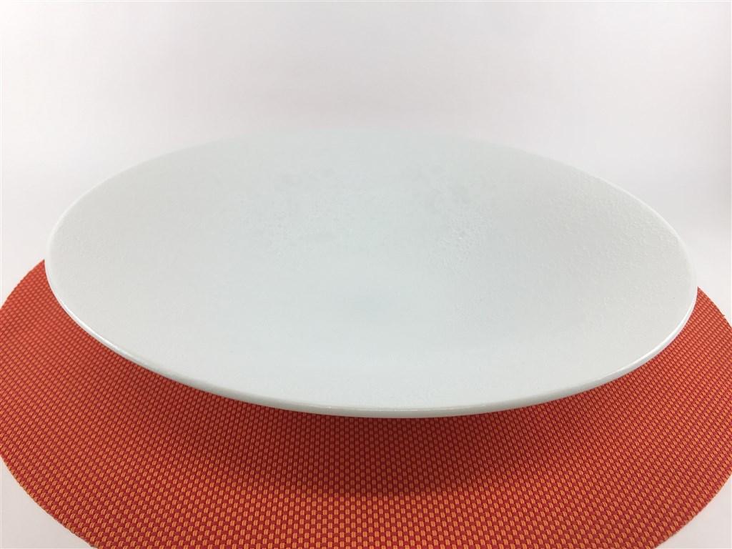 【有田焼 吉右衛門窯】28平鉢.白銀彩