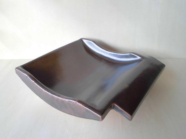 【有田焼 安楽窯】340瓦型陶板