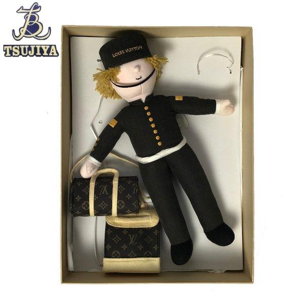 LouisVuittonルイヴィトン ベルボーイ ノベルティ人形 2013年クリスマス限定 新品同様 【辻屋質店15499】【中古】【質屋出品】