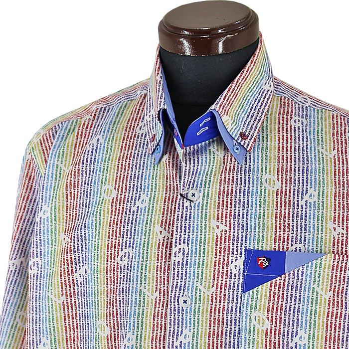 パジェロ■2020秋冬■ドゥボットーニシャツ(白系)日本製