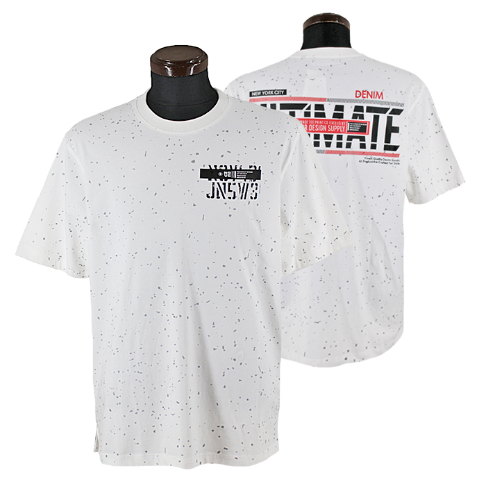 贈答 ■■■メーカー取り寄せ商品■■■ パジェロ■2021春夏■半袖丸首Tシャツ 高品質 白 11-2503-06-01