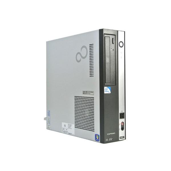 Office 2013付き/Windows7 Pro 32BIT(HDDリカバリ領域有り)/富士通 D550/B Core2 Duo 2.93GHz/メモリ4GB/160GB/DVD 中古パソコン デスクトップ