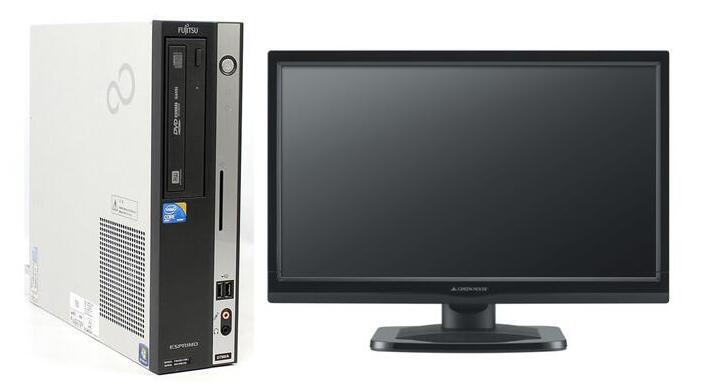 届いたらすぐ使える 安心な動作保証 Windows7 買物 Pro 64BIT 富士通 ESPRIMO D750 A Core i5 4GB DVD 500GB 中古パソコン 2016 3.20GHz Office 新品無線LAN有 好評受付中 20インチ液晶付 即日発送