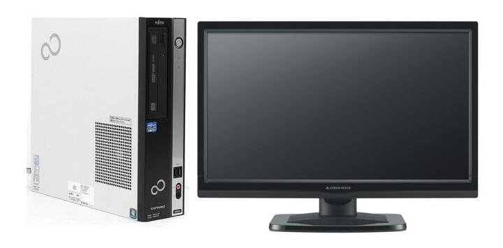 Windows10 64BIT搭載/富士通 ESPRIMO D582/Core i5-3470 3.20GHz/8GB/新品SSD 120GB/DVD/無線LAN/Office付き/【22インチモニター付】【中古パソコン】【デスクトップ】