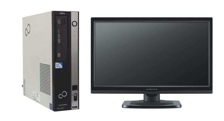 届いたらすぐ使える 安心な動作保証 バーゲンセール Windows10 Pro 64BIT 富士通 ESPRIMO 全品送料無料 D551 Celeron G530 中古パソコン DVD 2.40GHz 20型液晶 250GB デスクトップ 4GB Office付き 無線LAN