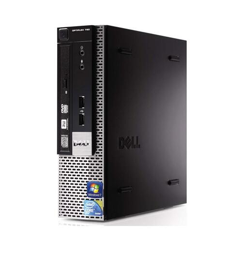 Windows XP Pro搭載/DELL Optiplex 780 USFF/Core2 Duo 2.93GHz/4GB/250GB/DVD 中古パソコン デスクトップ