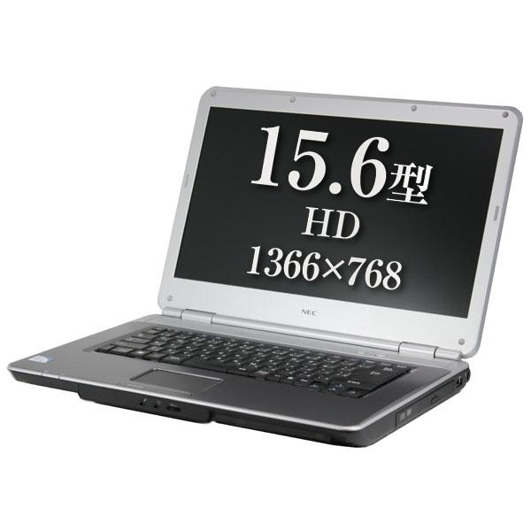 Windows10 Pro 64BIT NEC VersaPro VY22M/A-9 Celeron 900 2.20GHz 4GB 250GB DVD 15.6インチ 無線LAN Office 中古パソコン ノートパソコン