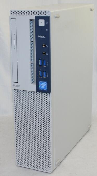 Windows10 Pro 64BIT NEC MATE タイプMB Celeron G3930 2.90GHz 4GB 500GB スーパーマルチ 無線LAN Office付 中古パソコン デスクトップ