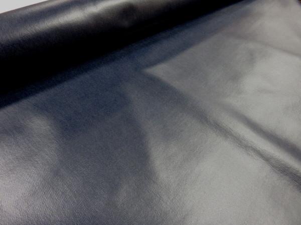 ラミネート生地 8オンスデニム ネイビー メール便1m可 古家悦子 迅速な対応で商品をお届け致します コットンリネン 麻 生地 防水 ビニール 手芸 入園 布地 年中無休 インテリア コーティング