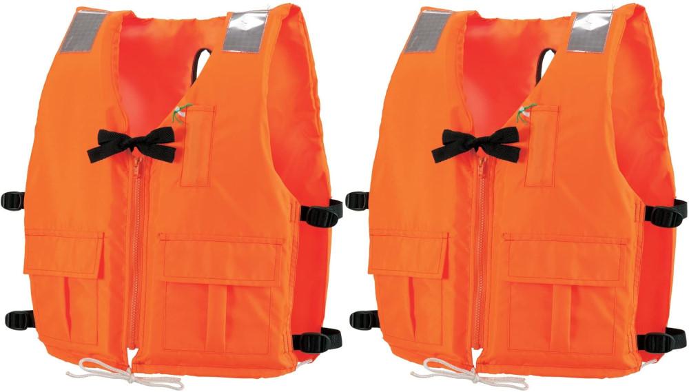 桜マーク付 ライフジャケット 小型船舶用  DX-5 救命胴衣 2着セット