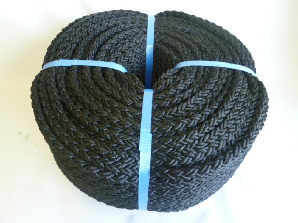 特価 12×100m エイトクロスロープ ブラック