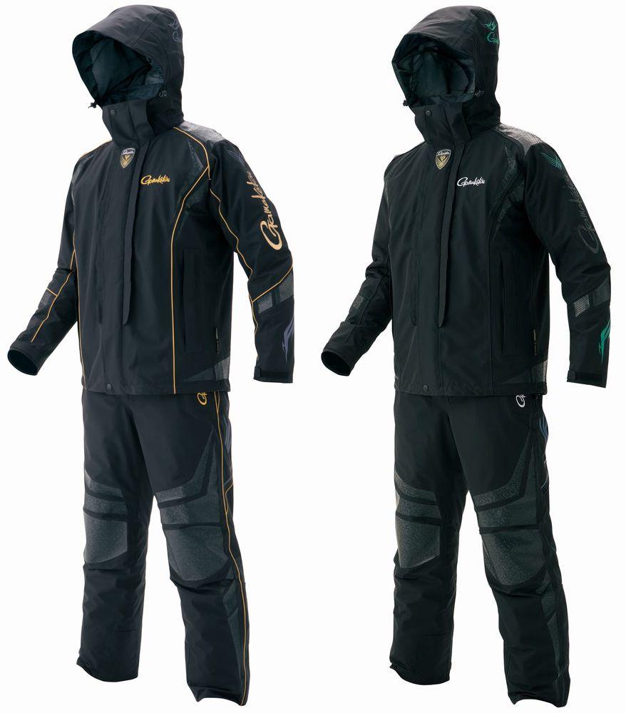 がまかつ 最高級ゴアテックス(R) オールウェザースーツ GM-3467(防水 フィッシング ウェア レインウェア ウエア 磯釣り レインスーツ レインコート アウトドア 雨カッパ フィッシングウェア 釣り レインウエア 上下セット 防寒着)