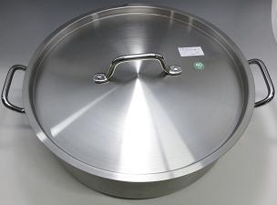 【在庫限り★特別価格】TKG PRO(プロ)外輪鍋 40cm(蓋付) IH対応 ※蓋歪み有り