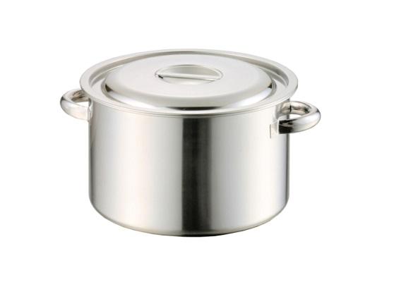 AG モリブデン半寸胴鍋(手付) 48cm