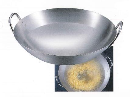 クローバー印 18-8 中華鍋  60cm