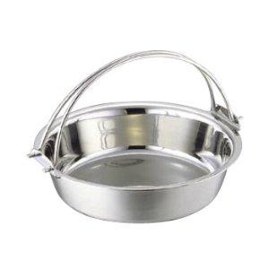 SW 電磁用 ちり鍋(つる付) 29cm(9寸) 3301-0291