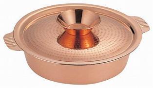 SW 銅 ちり鍋 29cm(9寸) 3452-0290