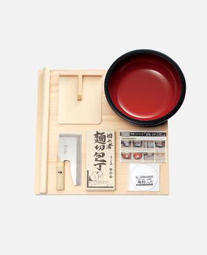 麺打セット(そば・うどんDVD付) A-1015