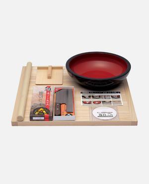 普及型 麺打セット(そば・うどんDVD付) A-1200