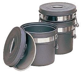 段付二重食缶 内外超硬質ハードコートアルマイト仕上 250-H 16L
