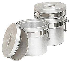 アルマイト段付二重食缶 249-R 14L