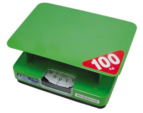シンワ 簡易自動はかり【取引証明以外用】 ほうさく 100kg 70008