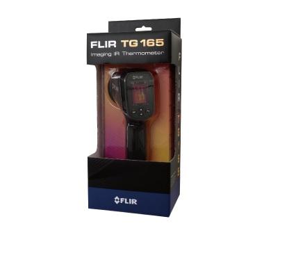 100%正規品 FLIR製 サーマルイメージ放射温度計 TG165:厨房・Byonho-DIY・工具