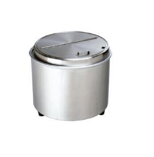 エバーホット ステンレス型 スープウォーマー(蒸気熱保温) NL-16S 16L