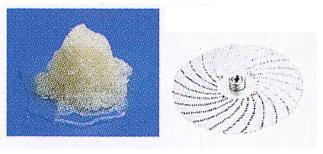 CHUBU ミニスライサー SS-250C用オプション おろし円盤