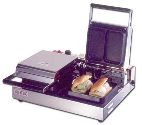 【受注生産品★メーカー直送★代引不可】 電気式 アイスサンドメーカー SVO-2/2連式