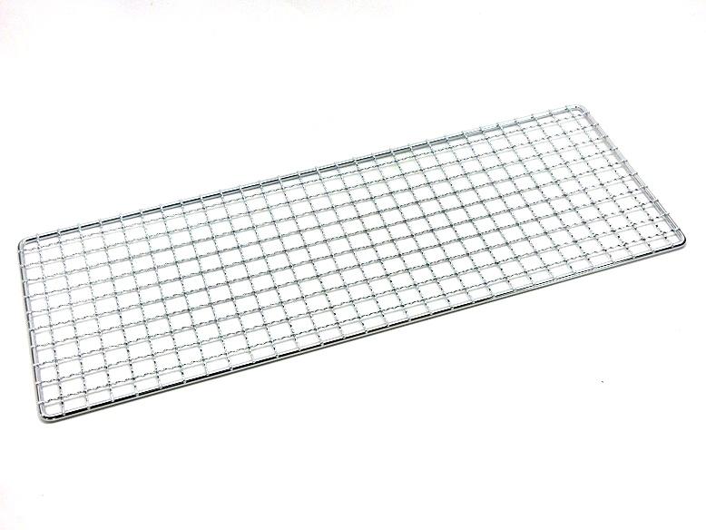 クロームメッキ 未使用品 焼鳥器用 510×185mmJAN:4905001003745 焼アミ中 安い 激安 プチプラ 高品質