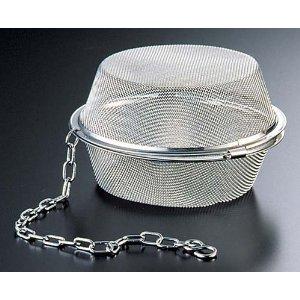国内在庫 リトルウッド 18-8 数量限定 平型茶こしボール 105mm 品番:L-0315