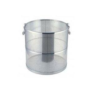 【受注生産品】UK 18-8 パンチング スープ取りざる 丸型  36cm用