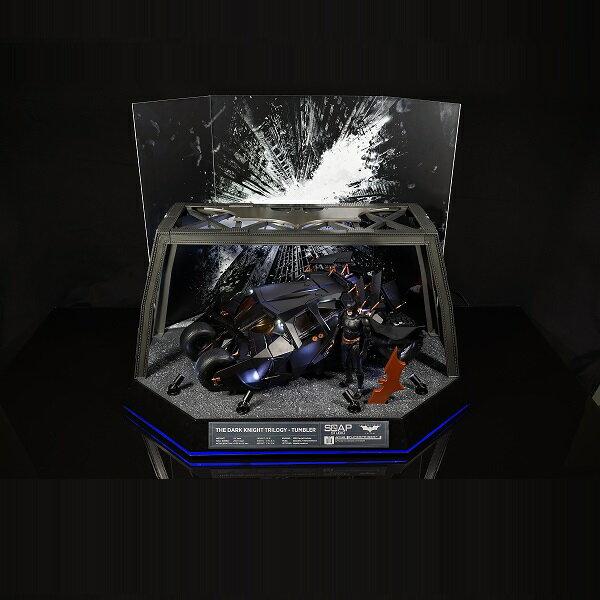 バットマン ダークナイト・トリロジー/ バットモービル タンブラー 1/12 RC ラジコン ビークル バットマン付属 デラックスパック【並行輸入品】