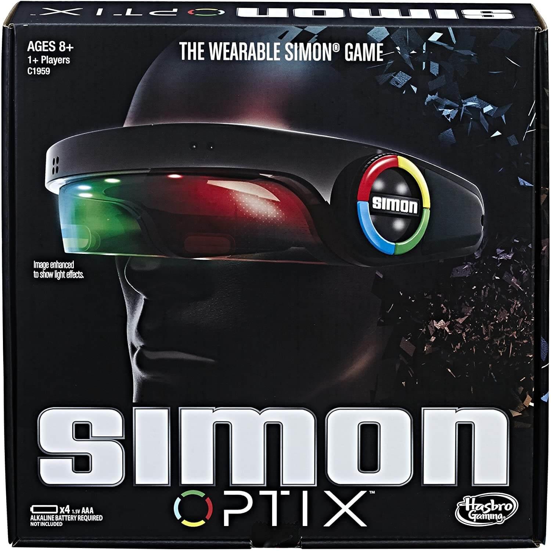 記憶にチャレンジ ヘッドセット 正規店 脳トレ THE WEARABLE SIMON 70%OFFアウトレット カラーパターン記憶ゲーム OPTIX 並行輸入品 新品 GAME サイモン