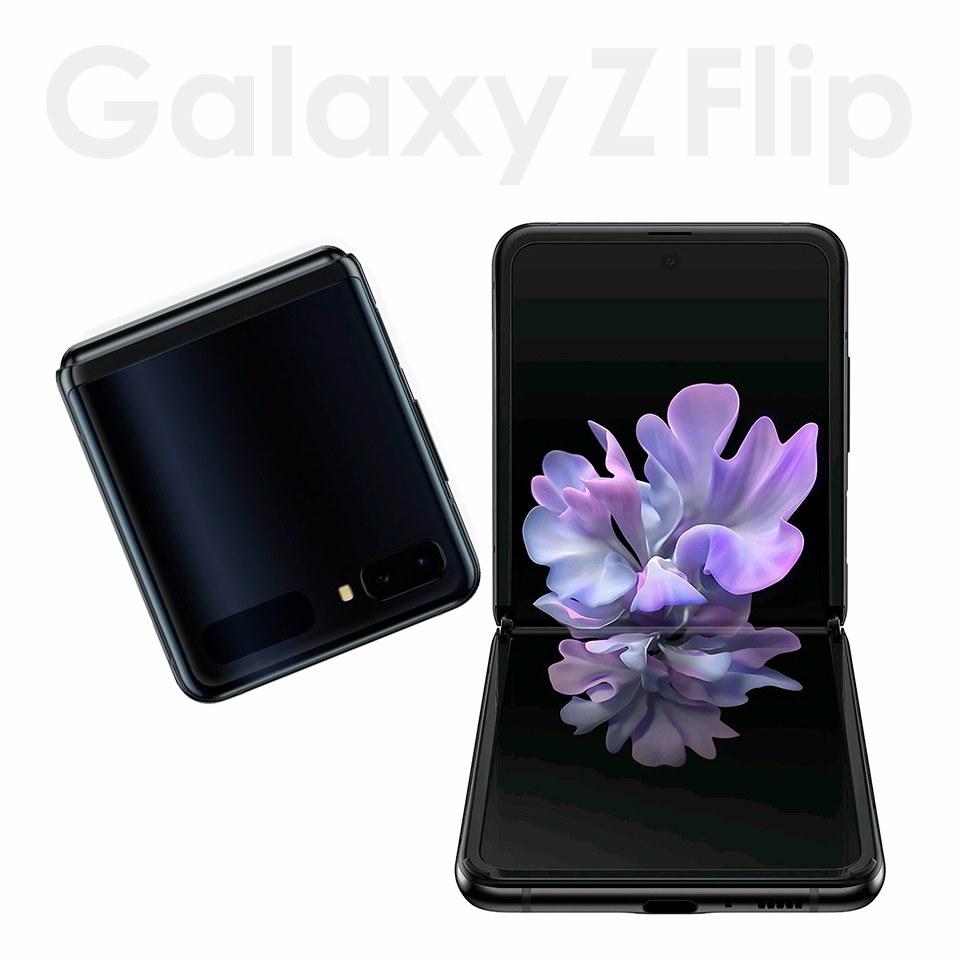 SIMフリー Samsung Galaxy Z Flip 256G SM-F700W/DS 並行輸入品 折りたたみ ケータイ スマホ 白ロム 最新 Android スマートフォン