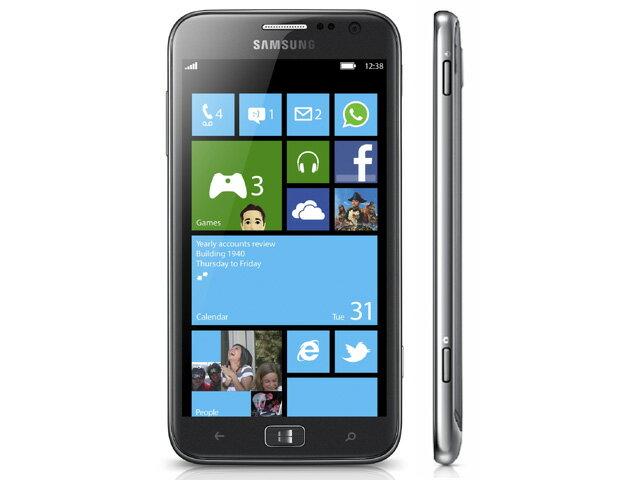 【送料無料】【海外版SIMフリー】【Samsung】Windows Phone ATIV S 16GB WiFi+3G AluminiumSilver アルミニウムシルバー GT-I8750【14k-sale】