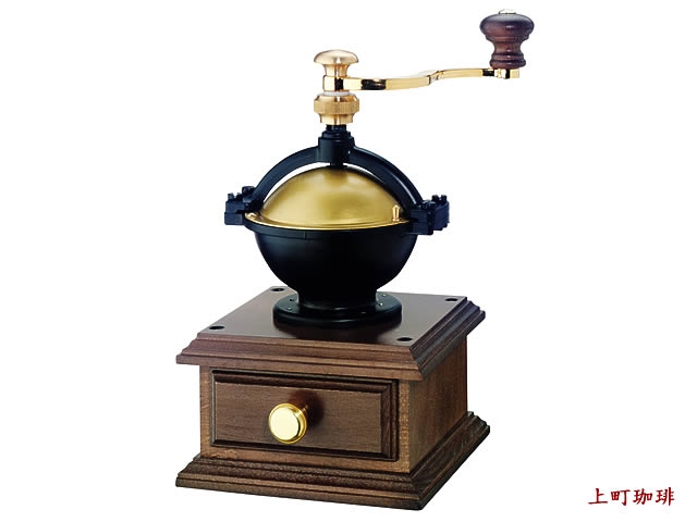 【本州送料無料】手動コーヒーミル(手挽き) ザッセンハウス ラパス グラインダー MJ-0801(ZASSENHAUS)  【コーヒー豆・おそうじブラシ付】