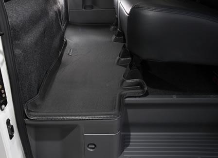 【UIvehicle/ユーアイビークル】NV350 キャラバン プレミアムGX用3Dラバーマット リア1ピースユーアイビークルオリジナルプレート付き!!