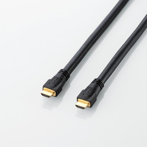 エレコム ハイスピード HDMIケーブル RoHS指令準拠 10m ブラック DH-HD13A100BK デジタル 音声 映像 テレビ 接続 用 ケーブル 1.3a 10.0m ELECOM 【 あす楽 】