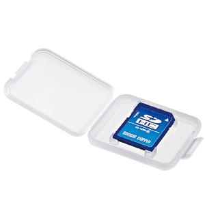 この商品の配送方法 メール便 サンワサプライ メモリーカードクリアケース SD用 SDケース 6個セット 安心の定価販売 FC-MMC10SD クリアケース 本日の目玉 メディアケース