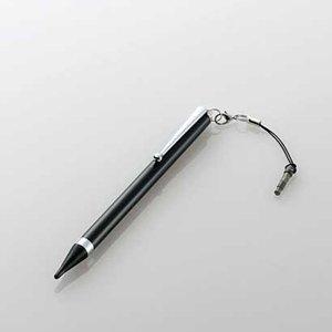エレコム ELECOM P-TPLFBK 送料無料 エレコム タッチペン ロングタイプ 極細 対応機種専用モデル ブラック P-TPLFBK 極細タッチペンロング ( ) ELECOM